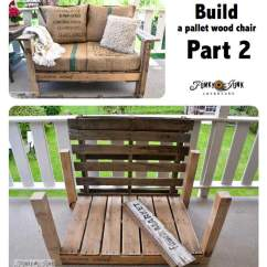 Funky Wooden Chairs Modern Plastic Chair A Cool Pallet Wood Anyone Can Make In Couple Of Hours Build Part 2 On Funkyjunkinteriors Net