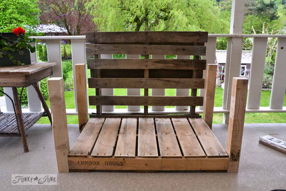 funky wooden chairs ford explorer with captain pallet wood patio chair build part 2 junk interiorsfunky via interiors