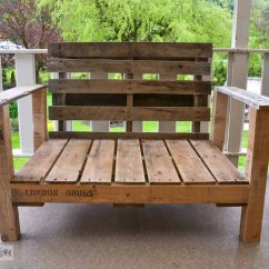 Funky Wooden Chairs Folding Rocking Pallet Wood Patio Chair Build Part 2 Junk Interiorsfunky Via Interiors
