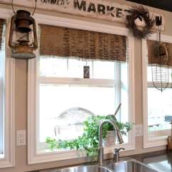 Kitchen Valances For Windows Kitchens Of India Party Junk 185 - Burlap! Funky Interiorsfunky ...