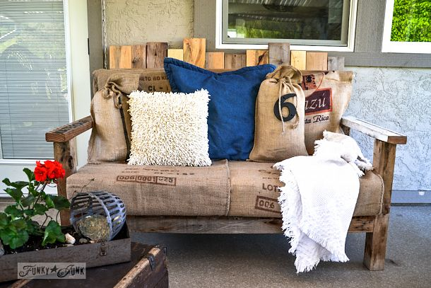 Pallet Wood Sofa Coolest And Comfiest Outdoor Furniture Ever Funkyjunkinteriors Net
