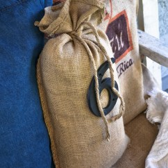 No Sew Bean Bag Chair Fishing Wowhead Burlap Coffee Sack Sofa Pillowsfunky Junk Interiors