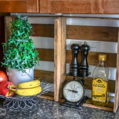 Salvaged Kitchen Cabinets Electric Junkers Unite With Junky Cabinets, A Pin Board And ...