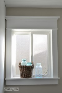 How to make a farmhouse window with mouldingFunky Junk ...