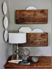 Upcycled old crate projects you can't live without!Funky ...