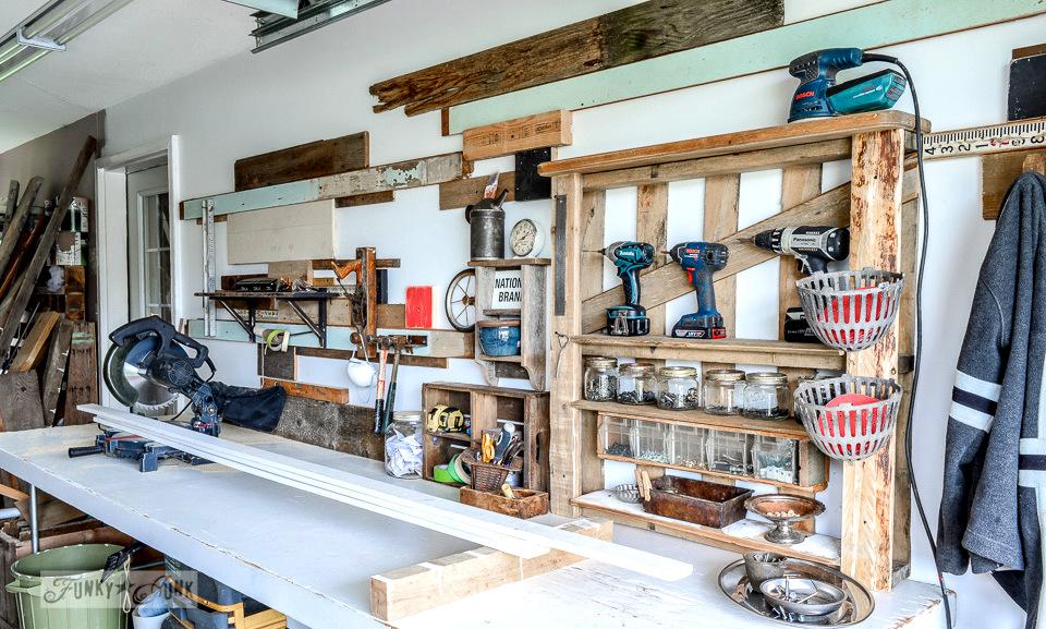 One Car Garage Woodshop