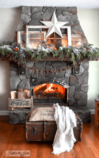 Happy New Life... with a Christmas decor recapFunky Junk ...