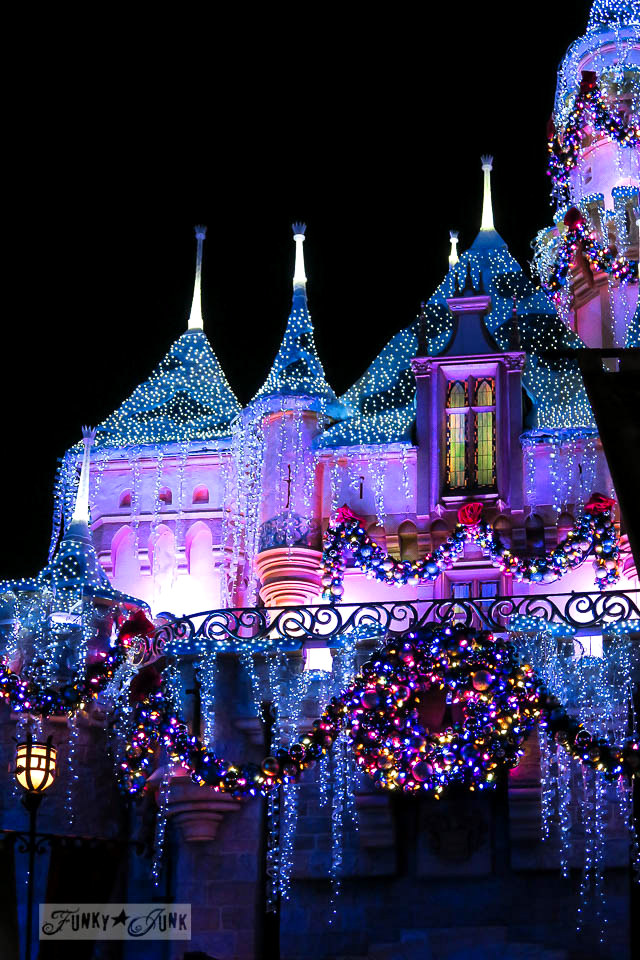 How to survive Disneyland during Christmas with park picturesFunky Junk Interiors