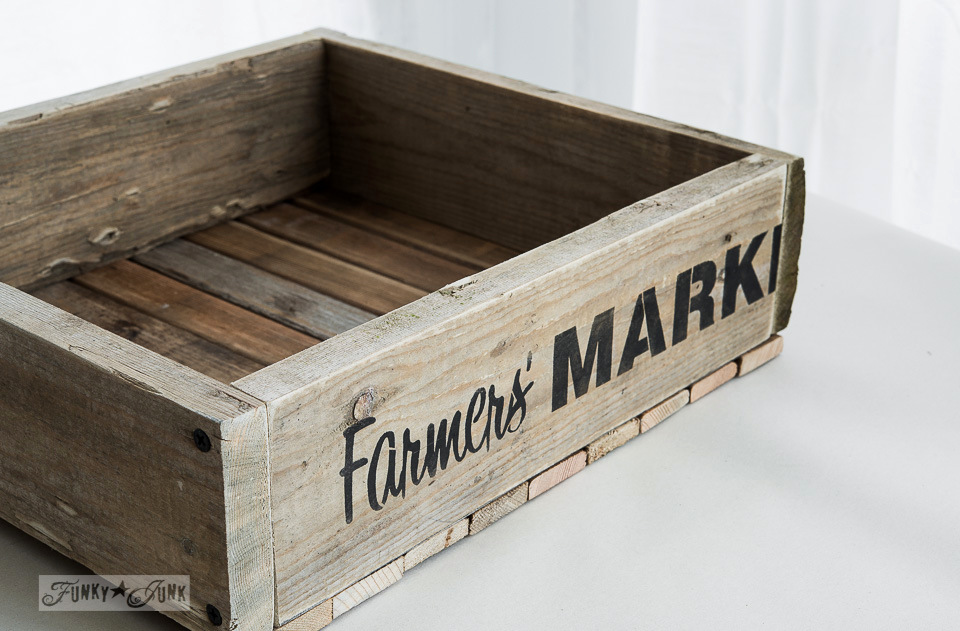 How To Build A Reclaimed Wood CrateFunky Junk Interiors