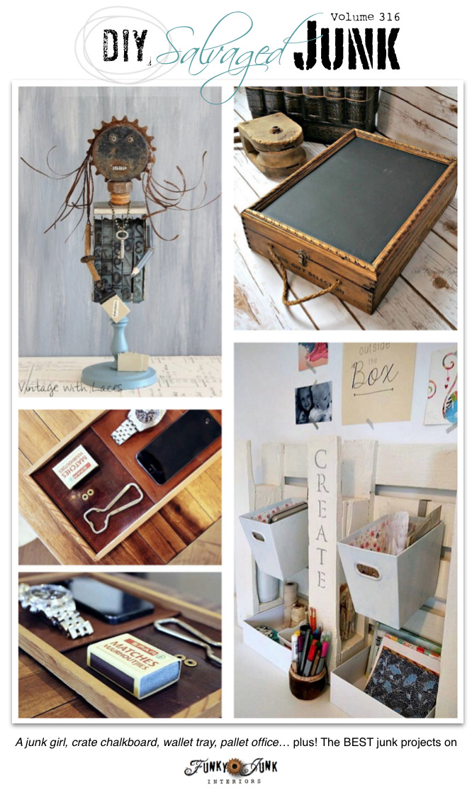 The BEST DIY salvaged junk projectsFunky Junk Interiors