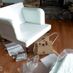 Ikea Stocksund Chair Covers Cushions Cheap I Built A Style Funky Junk Interiors Assembling An Easy Assembly And Super Comfy Funkyjunkinteriors
