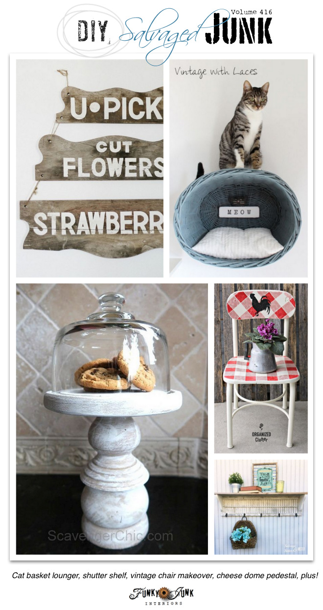 DIY Salvaged Junk Projects 416Funky Junk Interiors