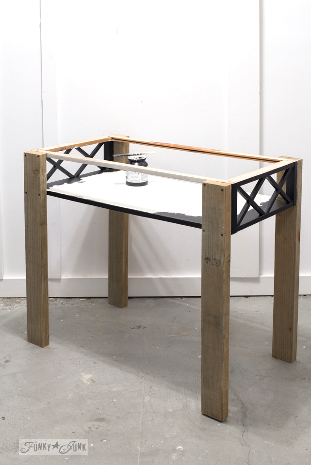 repurposed coffee table flip