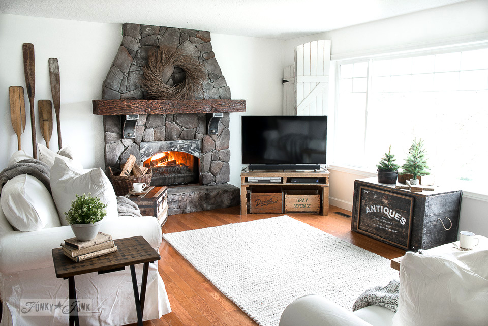 ektorp living room interior design ideas colors a new winter white 3 5 sofa funky junk ikea sofas in with rustic wood oar wall decor