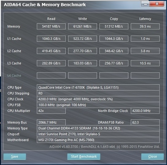 GSkill TridentZ 16GB 3000C14 OC4133