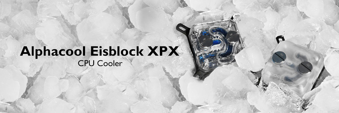 Alphacool Eisblock XPX CPU Water Block (Polished Clear Version