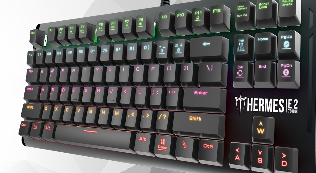 Gamdias Hermes E2 Mechanical Gaming Keyboard Review - FunkyKit