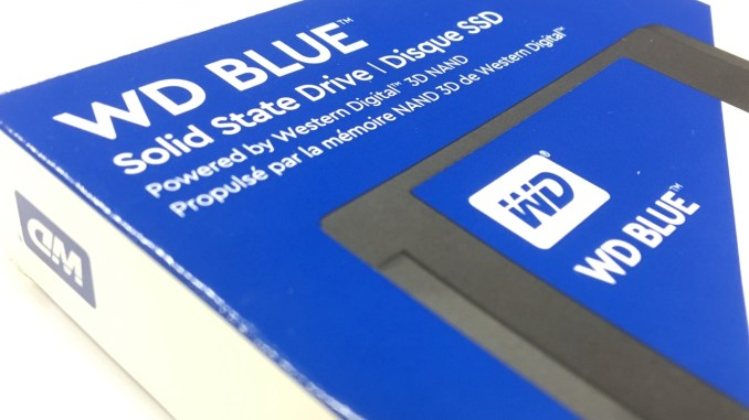 Western Digital BLUE 1TB 3D NAND SSD Review - FunkyKit