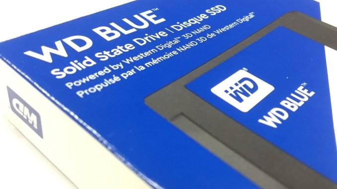 Western Digital BLUE 1TB 3D NAND SSD Review - FunkyKit
