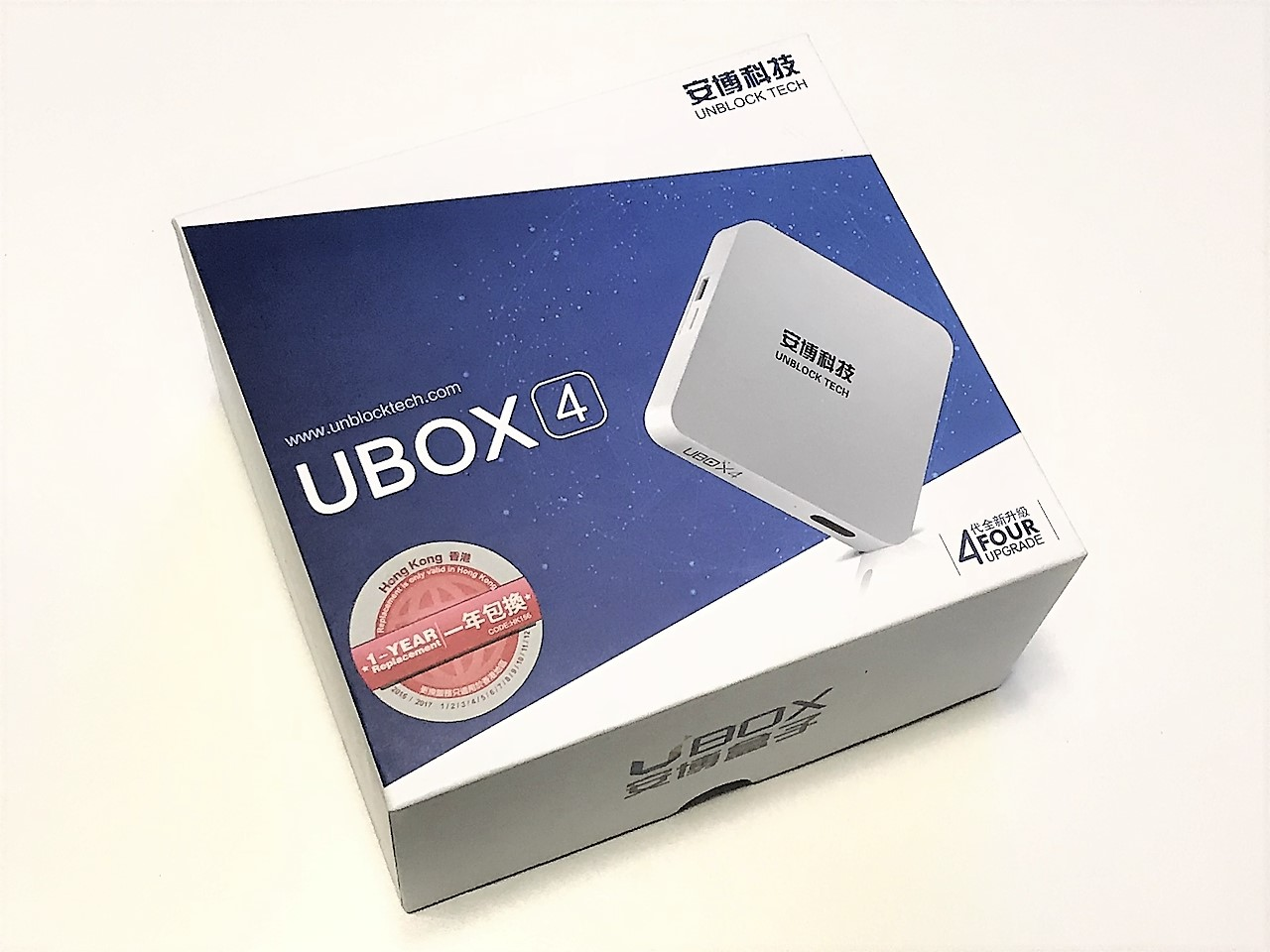 Unblock Tech - UBOX 4 TV Box Review - FunkyKit