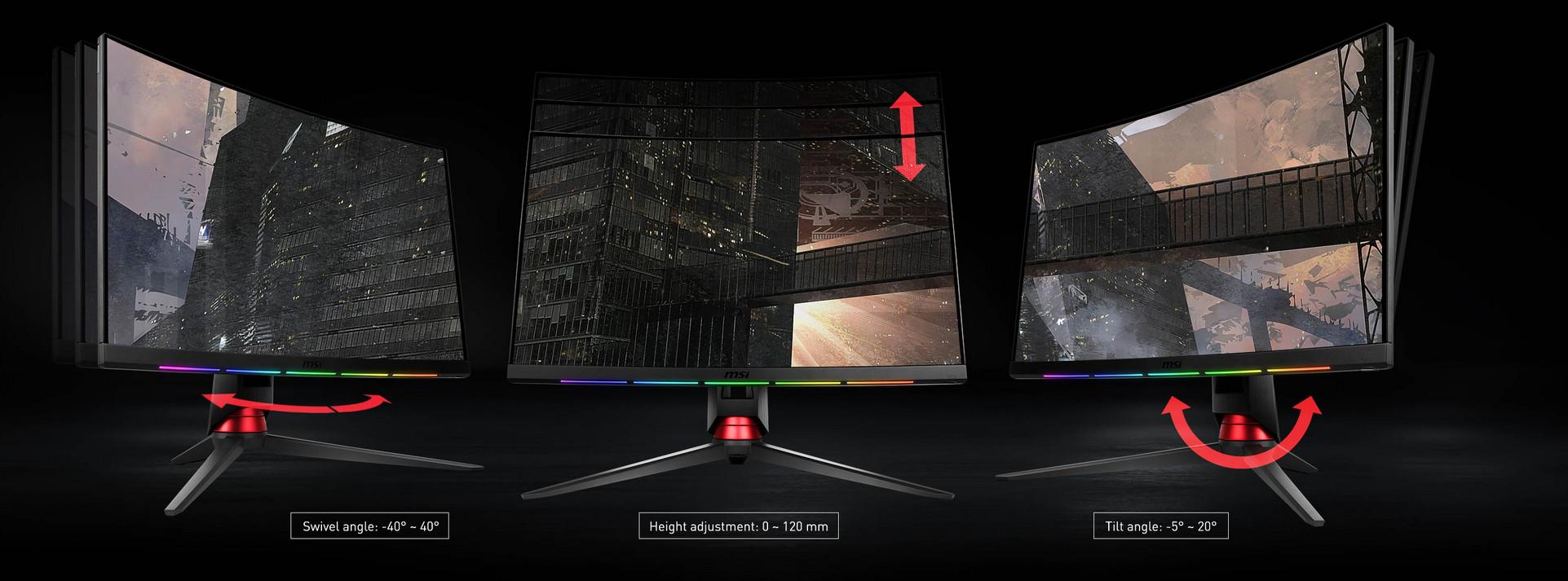 MSI Intros the OPTIX MPG27CQ Monitor 4