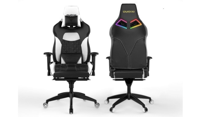 Swell Gamdias Achilles P1 L Rgb Gaming Chair Build Funkykit Alphanode Cool Chair Designs And Ideas Alphanodeonline