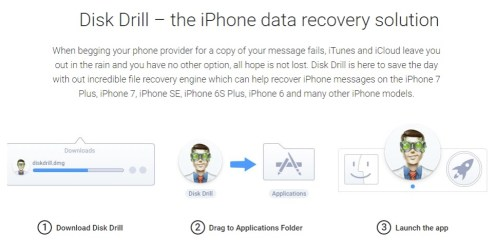Recover Deleted Text Messages on iPhone - FunkyKit