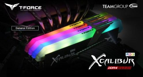 T-FORCE XCALIBUR DDR4 d