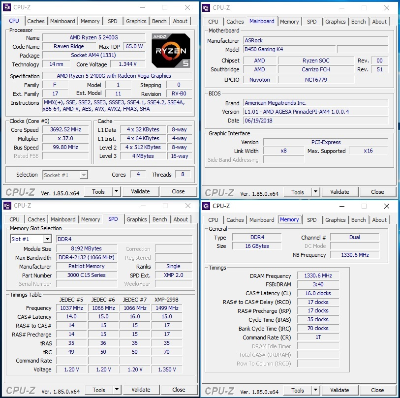 ASRock Fatal1ty B450 Gaming K4 Motherboard Review - Page 4 of 7