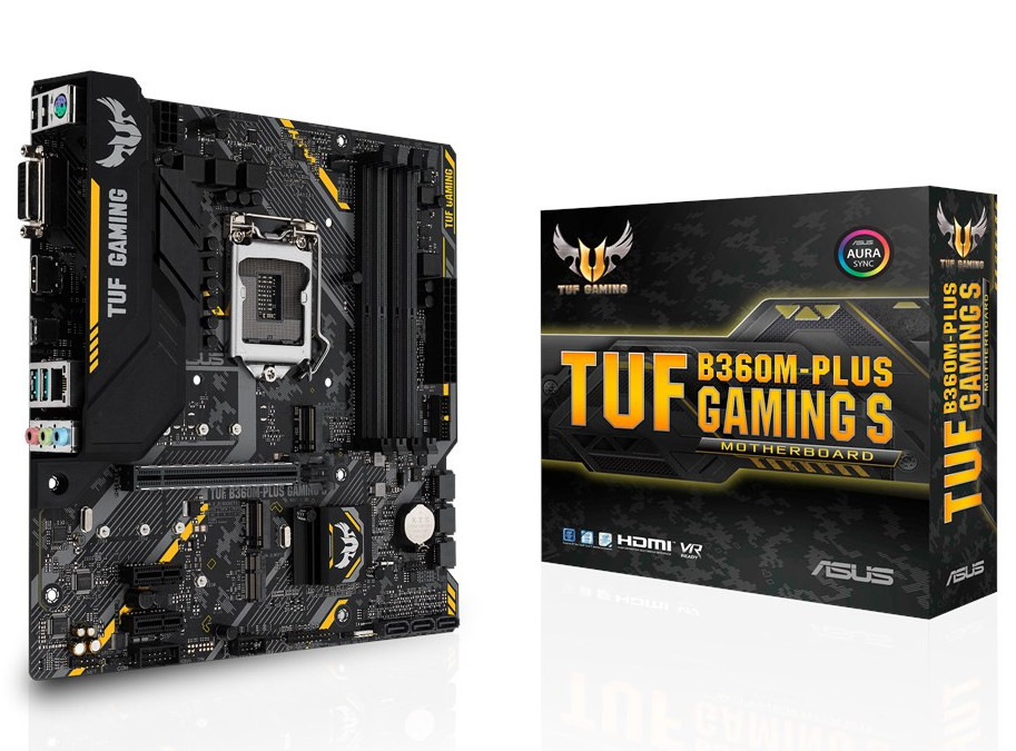 ASUS Intros TUF B360M-Plus Gaming S Motherboard - FunkyKit
