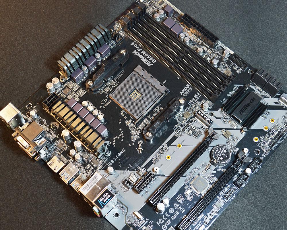 ASRock B450M Pro4 Motherboard Review - FunkyKit