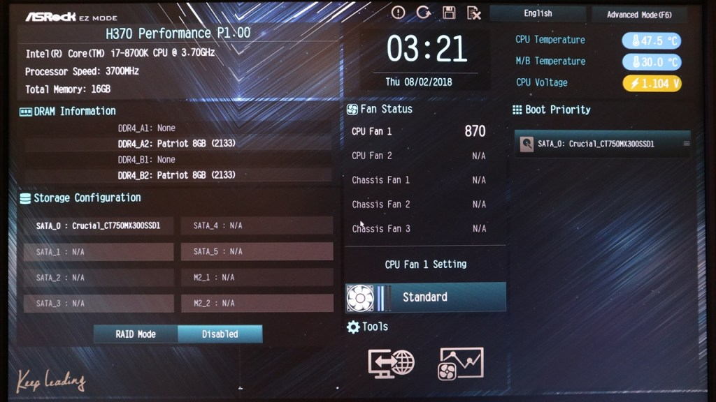 ASRock Fatal1ty H370 Performance Motherboard Review - Page 3