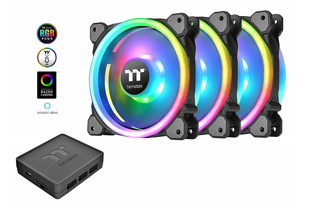 Thermaltake Riing Trio 12 RGB Fan Review