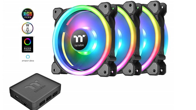 Thermaltake Riing Trio 12 RGB Fan Review - FunkyKit