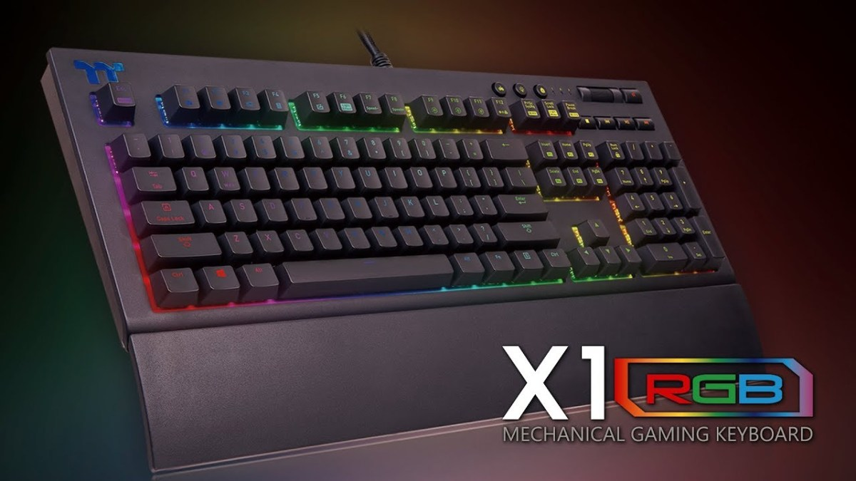 Thermaltake X1 RGB Gaming Keyboard Review