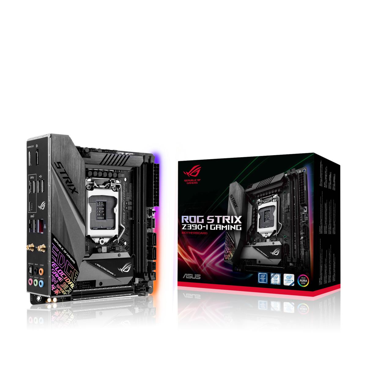 rox strix z390-i gaming