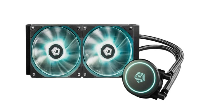 607654177edd28 ID-Cooling Releases AURAFLOW X 240 Budget RGB AIO Water Cooler