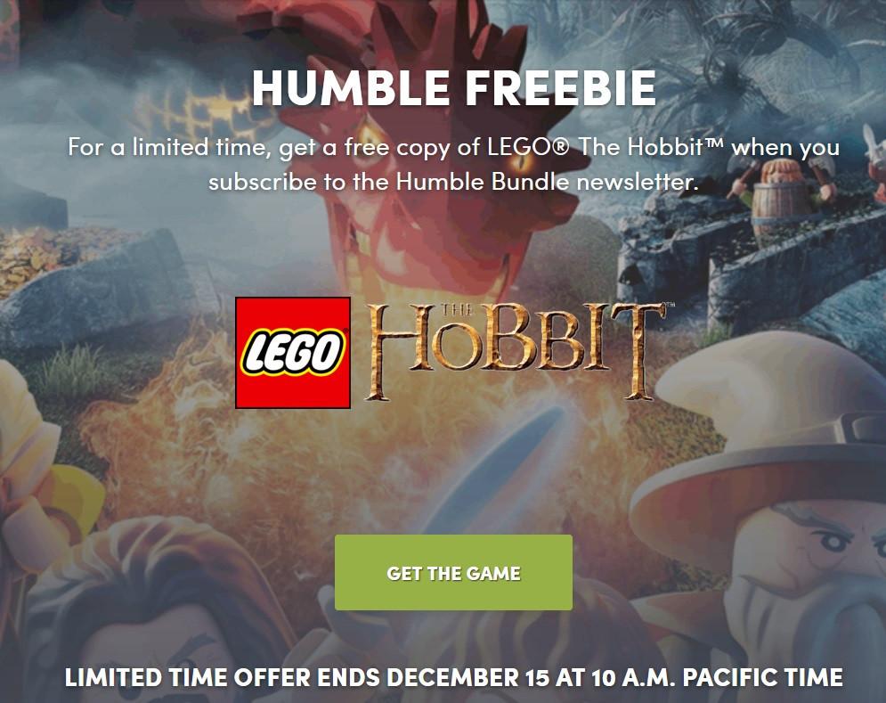 Humble Bundle Lego Hobbit