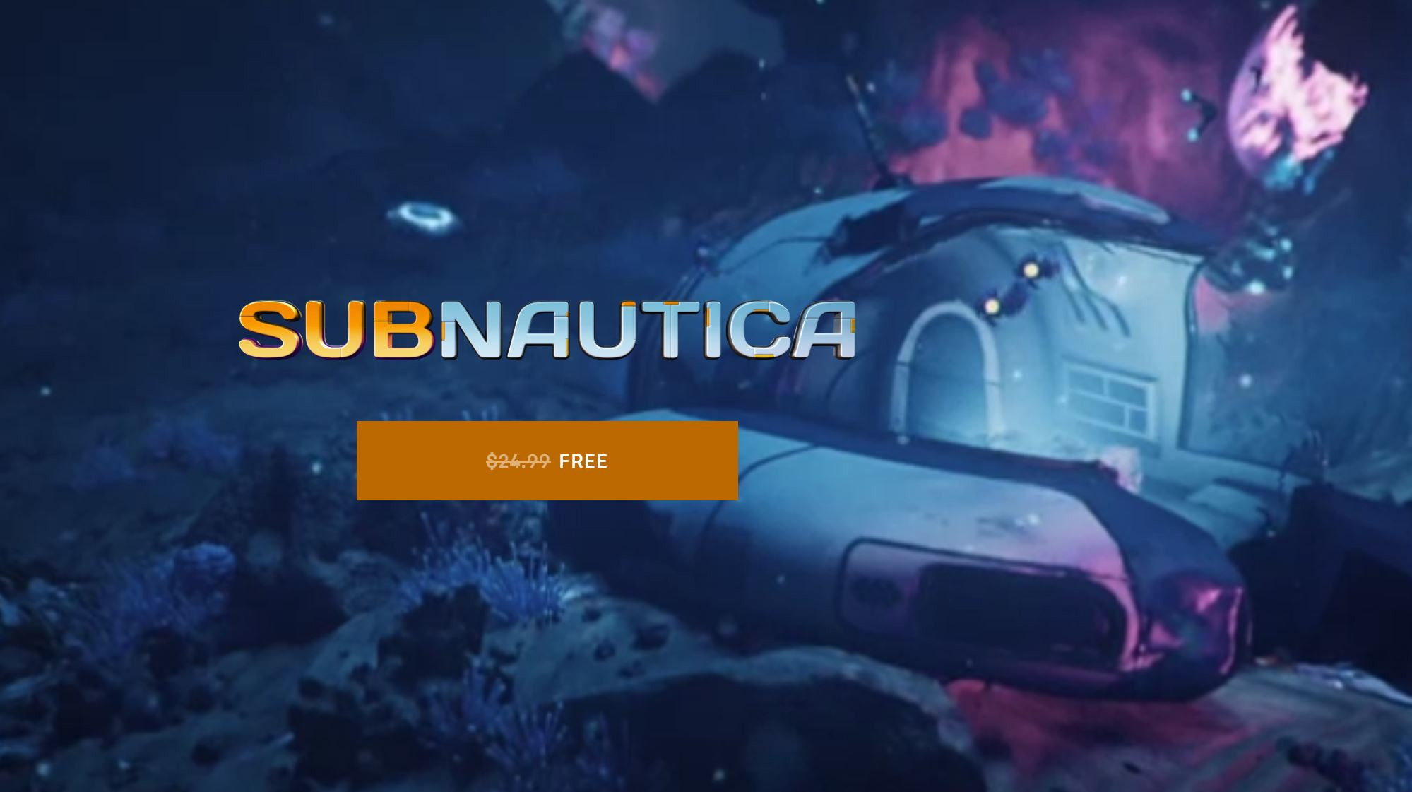 Subnautica Currently Available for Free on Epic Games ...