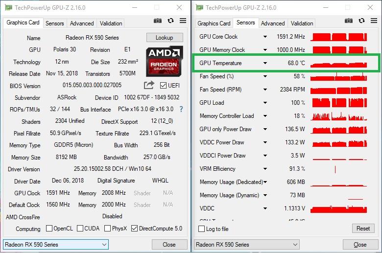ASRock Radeon RX 590 8G OC Graphics Card (8GB GDDR5) Review