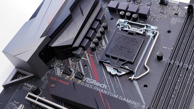 ASRock B365 Phantom Gaming 4 Motherboard Review - FunkyKit