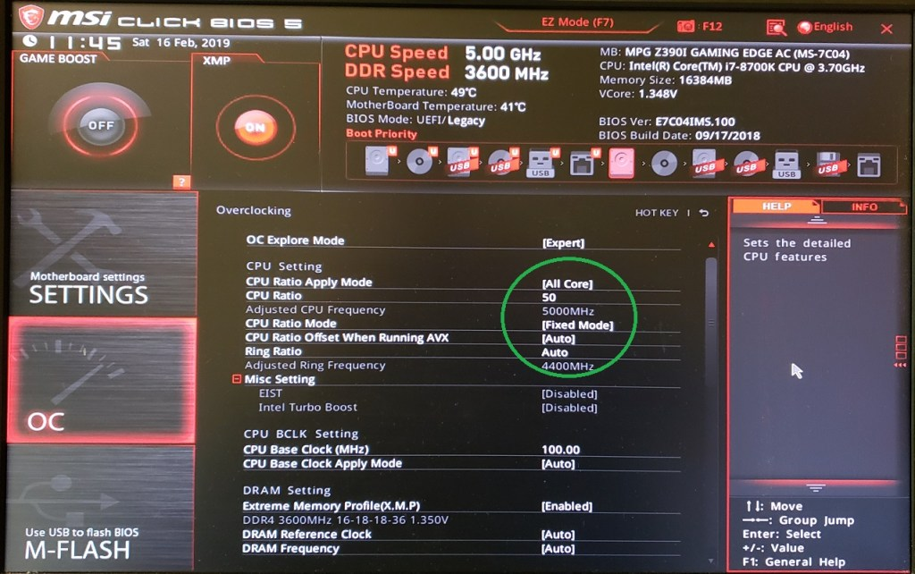 MSI MPG Z390I Gaming Edge AC Motherboard Review - Page 7 of 8 - FunkyKit