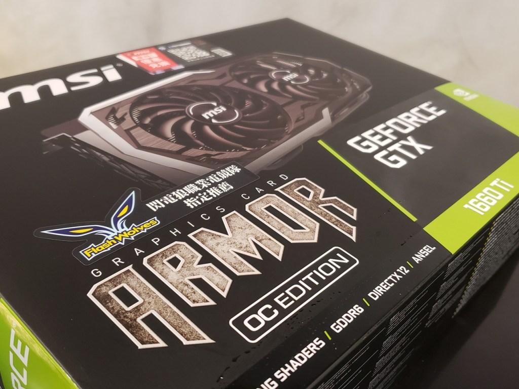 MSI GeForce GTX 1660 Ti ARMOR OC (6GB GDDR6) Graphics Card Review