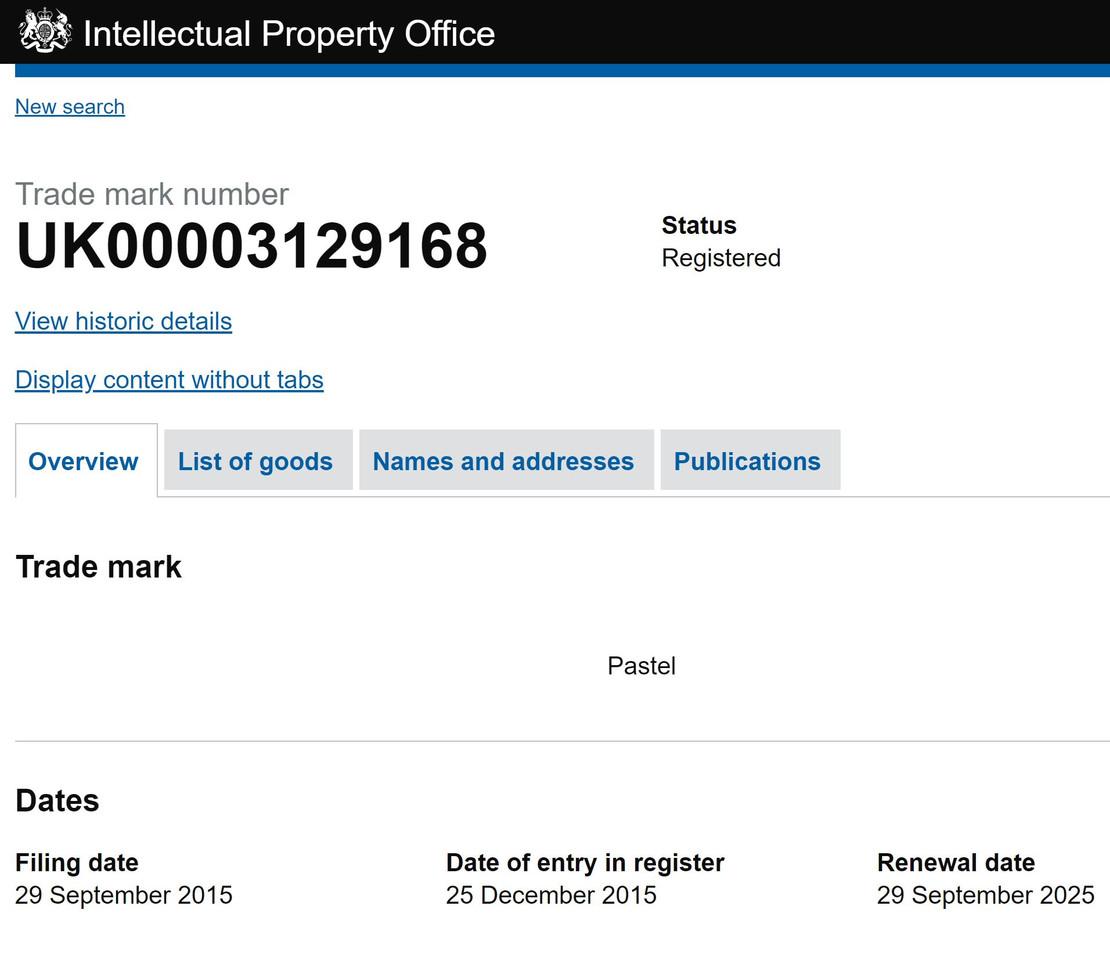 uk patent 1