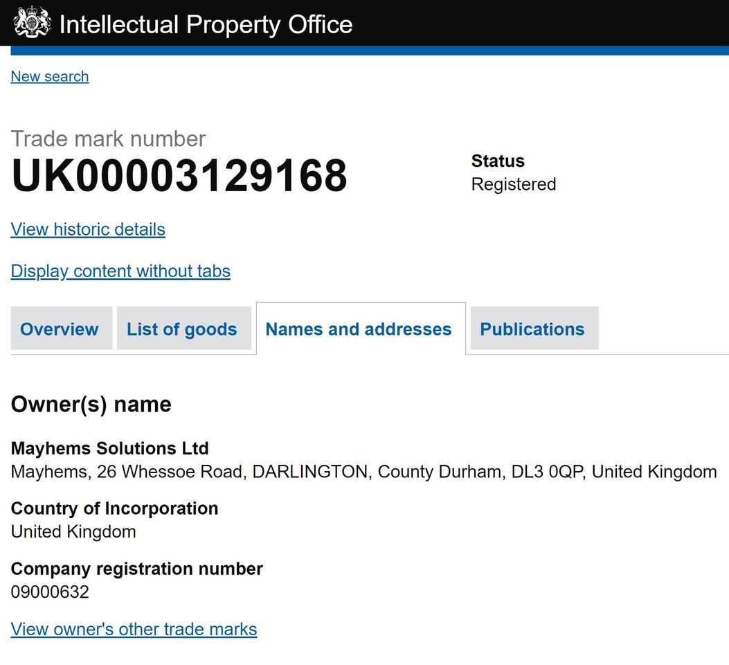 uk patent 2