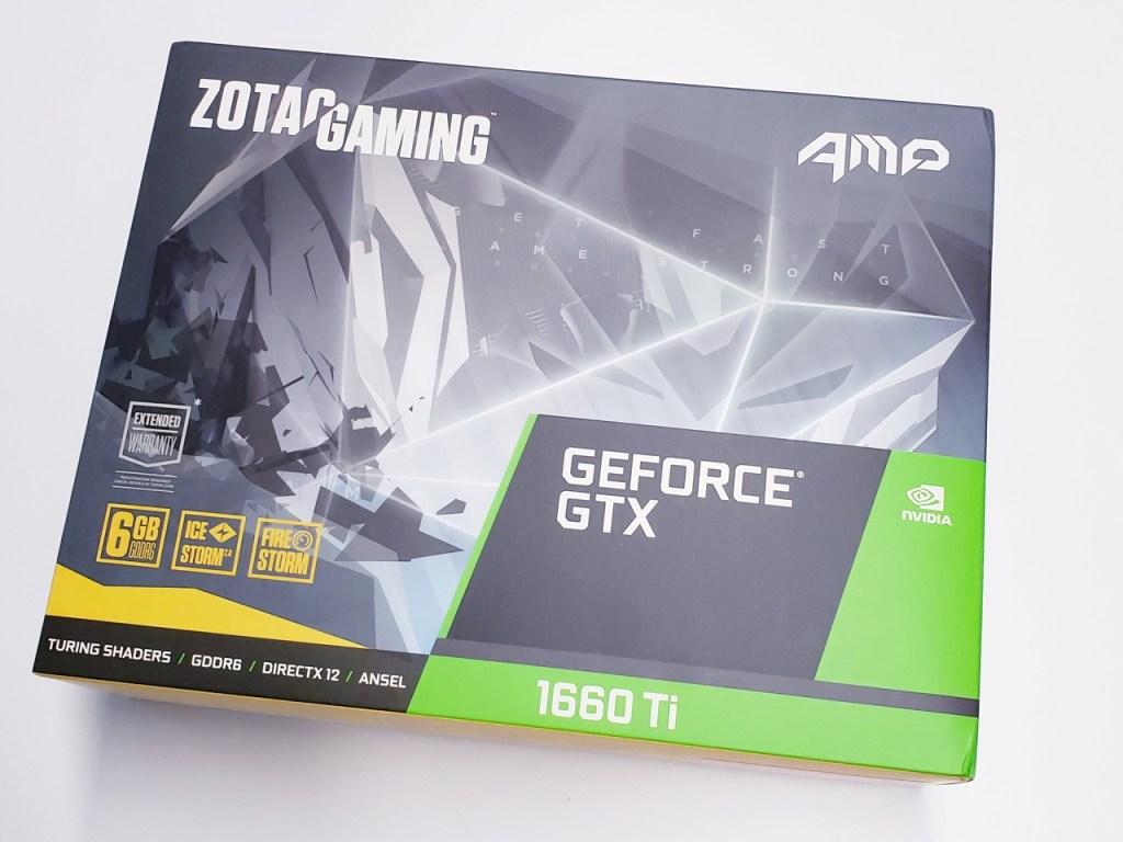 ZOTAC Gaming GeForce GTX 1660 Ti AMP (6GB GDDR6) Graphics