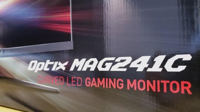 MSI Optix MAG241C Curved Gaming Monitor Review