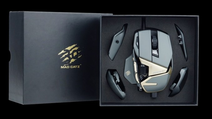 4a99bdccd26 MAD CATZ Announces Limited Edition R.A.T. 8+ 1000 Optical Gaming Mouse -  FunkyKit