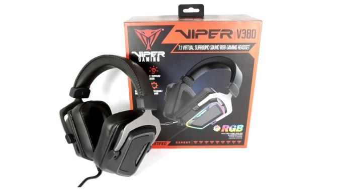 Patriot Viper V380 Gaming Headset Review