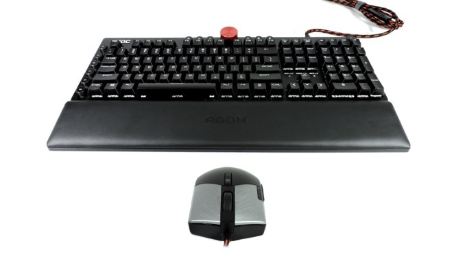 AOC AGK700 Gaming Keyboard and AGM700 Gaming Mouse Review